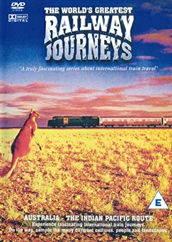 The World's Greatest Railway Journeys - Australia / The Indian Pacific Route - (DVD) from Musicbank