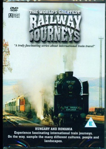 The World's Greatest Railway Journeys - Hungary And Romania - (DVD) from Musicbank