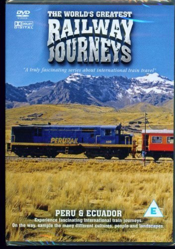 The World's Greatest Railway Journeys - Peru And Ecuador - (DVD) from Musicbank