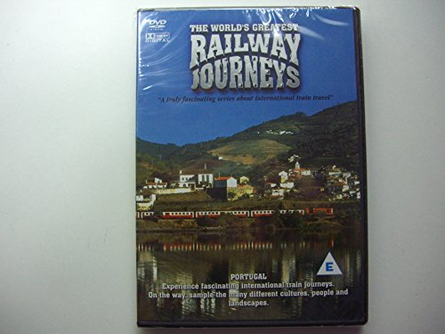 The World's Greatest Railway Journeys Portugal DVD NEW Documentary Travel from MUSICBANK