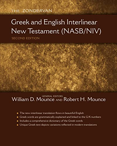 The Zondervan Greek and English Interlinear New Testament (NASB/NIV) from Zondervan