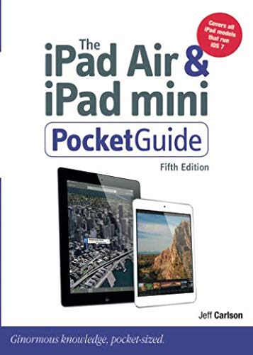 The iPad Air & iPad mini PocketGuide from Peachpit Press