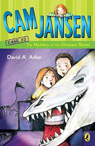Cam Jansen and the Mystery of the Dinosaur Bones: 03 from Puffin Books