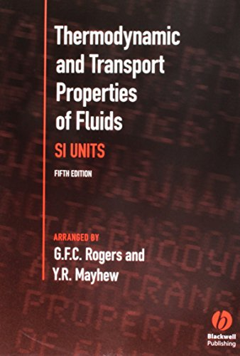 Thermodynamic and Transport Properties of Fluids: S. I. Units from John Wiley and Sons Ltd