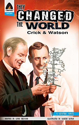 They Changed the World: Crick & Watson - The Discovery of DNA (Campfire Graphic Novels) from Campfire