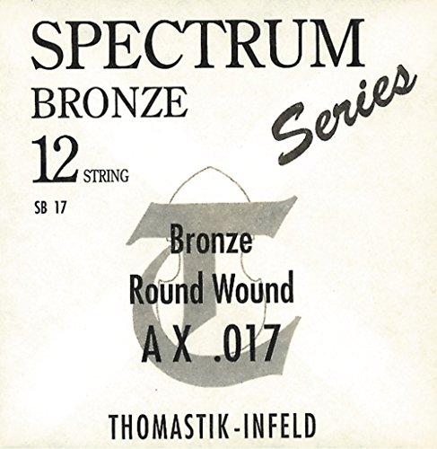 Thomasitk single string A .043rw bronze with silk padding roundwound SB43 for Acoustic Guitar Spectrum set SB111, SB211 from Thomastik