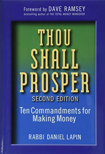 Thou Shall Prosper: Ten Commandments for Making Money from Wiley