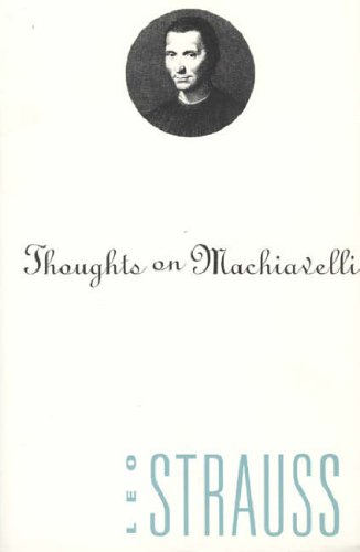 Thoughts on Machiavelli from University of Chicago Press