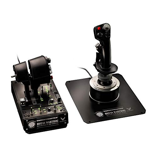 Thrustmaster Hotas Warthog Joystick and Throttle for PC from ThrustMaster
