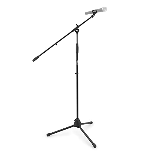 Tiger Boom Microphone Stand with Mic Clip, Black from Tiger