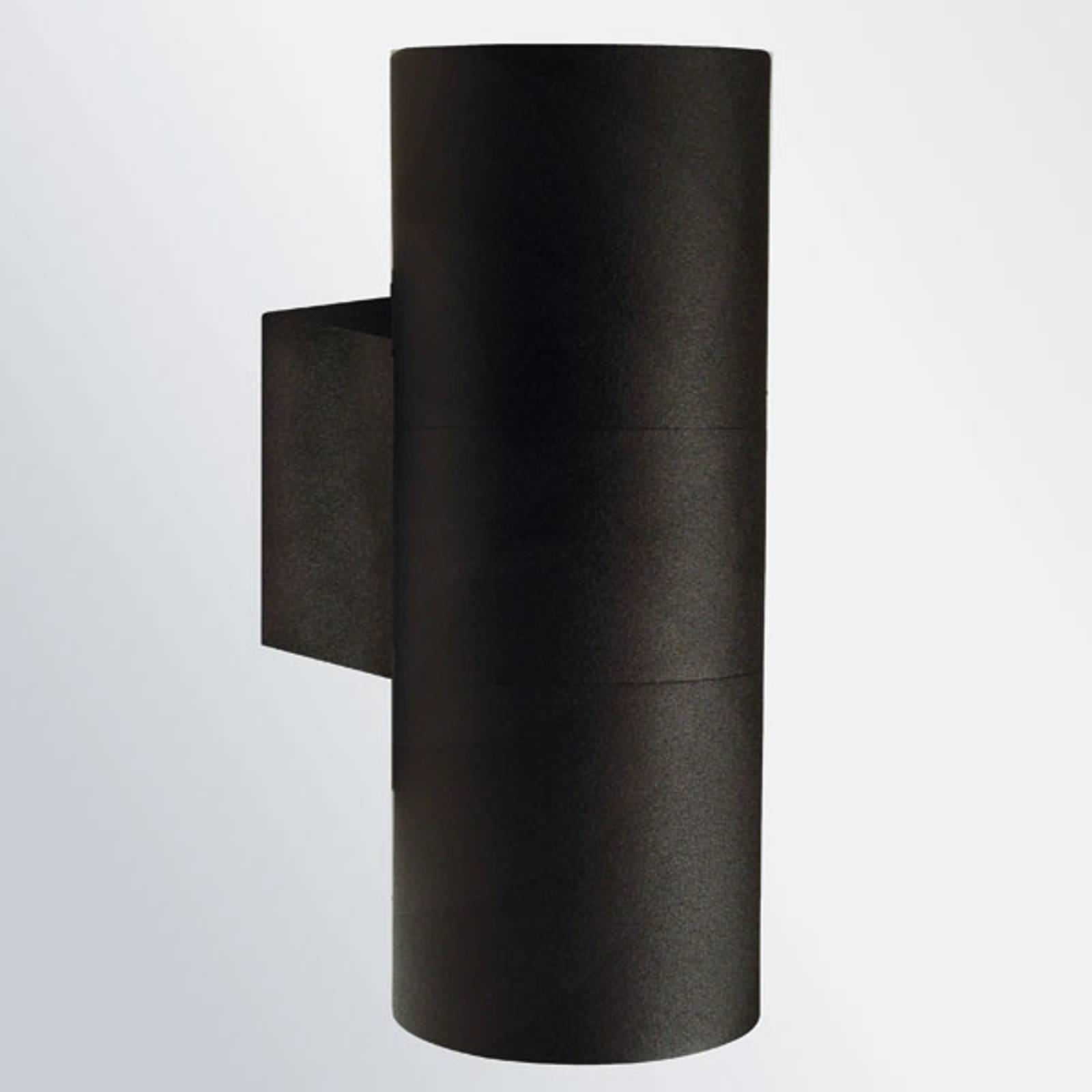 Tin Maxi Double outdoor wall lamp black from Nordlux