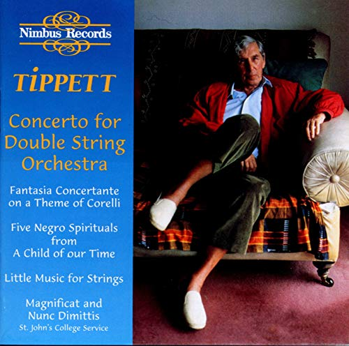 Tippett: Double Concerto from NIMBUS