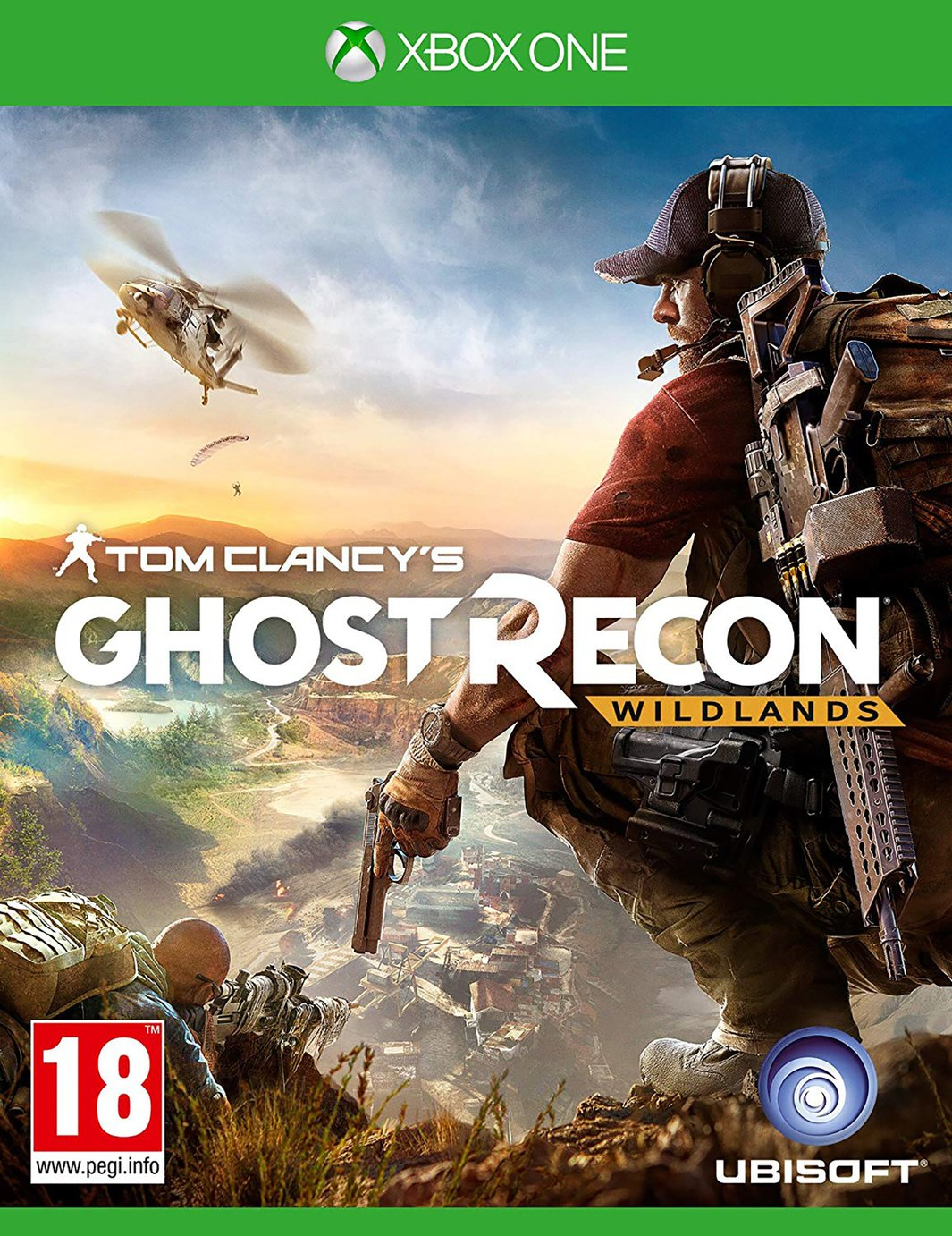 Tom Clancy's Ghost Recon: Wildlands Xbox One Game from Xbox One X Enhanced