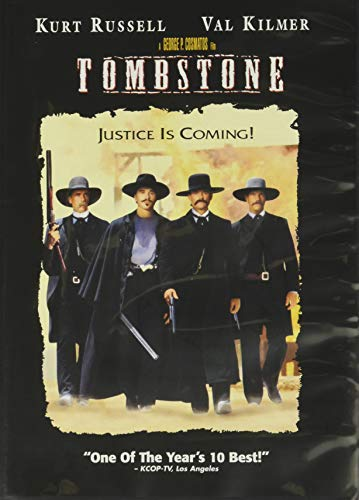 Tombstone [DVD] [1994] [Region 1] [US Import] [NTSC] from MOVIE