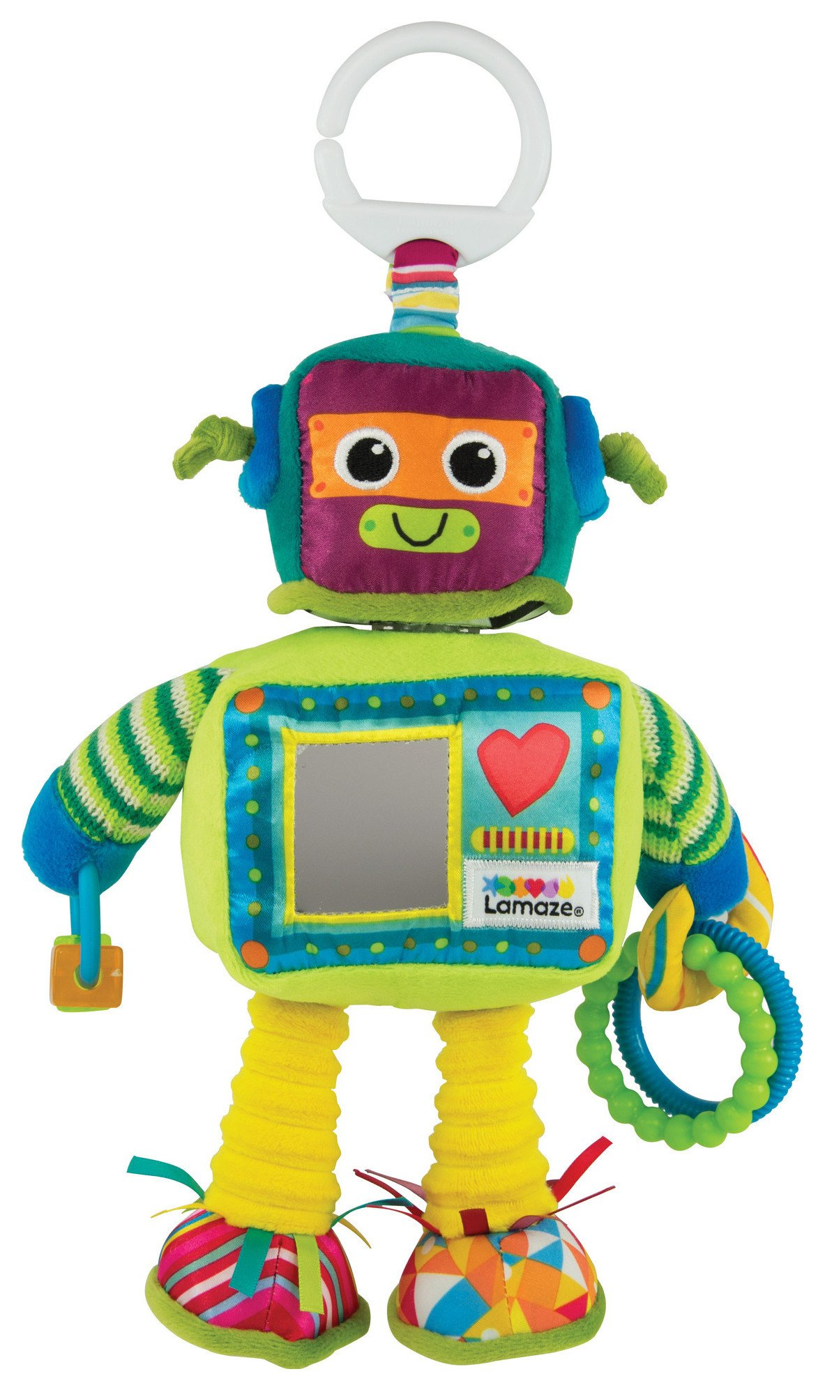 Tomy Lamaze Rusty the Robot. from Lamaze