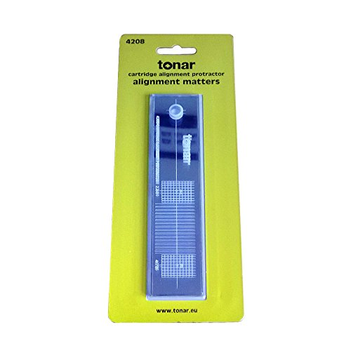 Tonar Simple Cartridge Protractor Alignment Tool from Tonar
