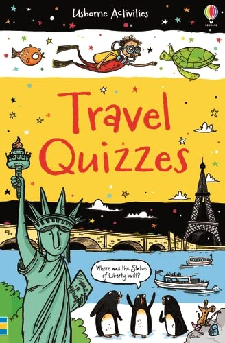 Travel Quizzes (Activity and Puzzle Books) from Usborne Publishing Ltd