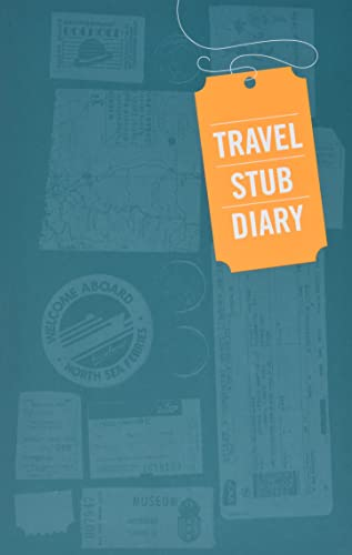 Travel Stub Diary from Chronicle Books