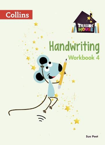 Handwriting Workbook 4 (Treasure House) from Collins