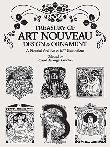 Treasury of Art Nouveau Design & Ornament (Dover Pictorial Archive) from Dover Publications Inc.