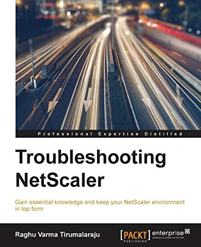 Troubleshooting NetScaler from Packt Publishing