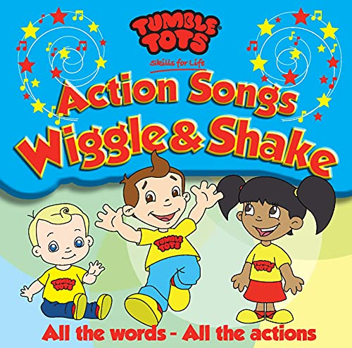 Tumble Tots - Action Songs - Vol 1 [Image may vary] from AVID