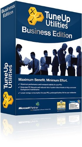 TuneUp Utilities Business Edition 2012, 5 User License (PC) from PC Tune UP
