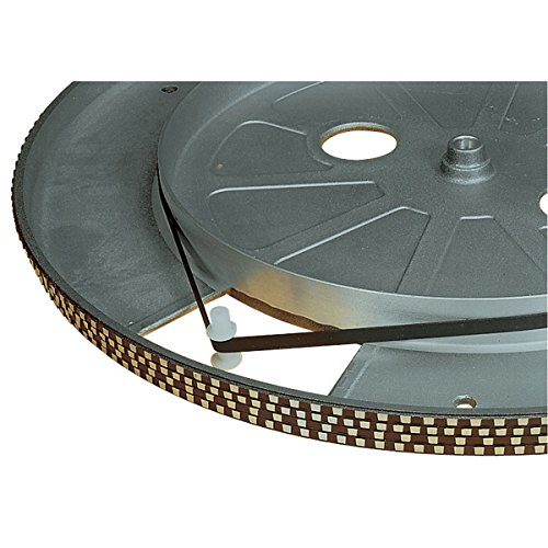 175mm TURNTABLE DRIVE BELT DJ EQUIPMENT FLAT CROSS-SECTION 5mm WIDE NEW from Electrovision