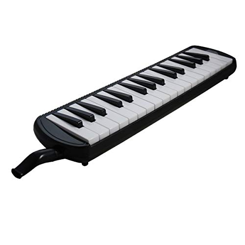 Tuyama® TMD-132 Melodica (32 Keys) black Incl. mouthpiece moutube + soft carry case from tuyama
