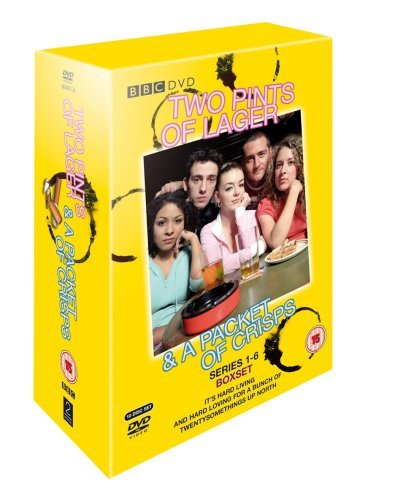 Two Pints of Lager: Series 1-6 [DVD] [2001] from 2 Entertain Video