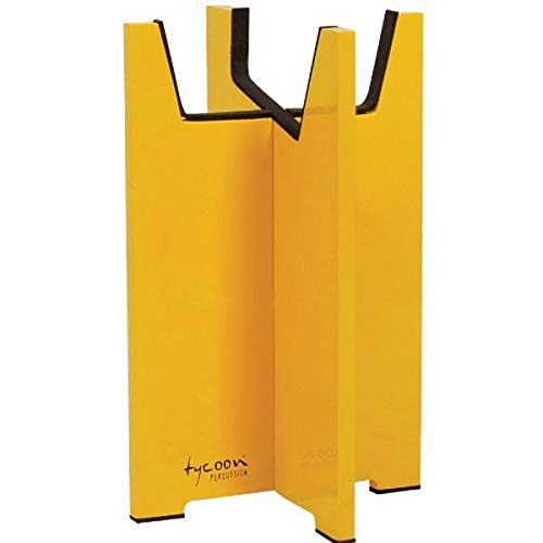 Tycoon Percussion TKQS-Y Quinto Cajon Stand Yellow from Tycoon Percussion