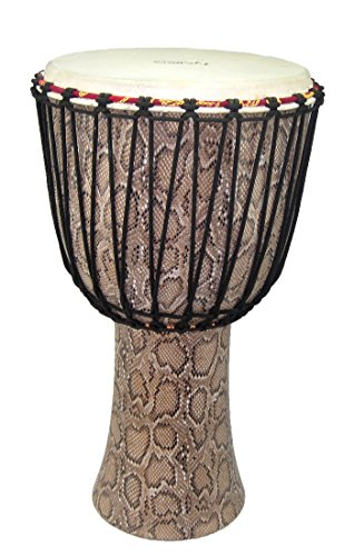 "Tycoon Percussion TAJ-12F5 12"" Master Fantasy Series Rope Tuned Djembe Boa from Tycoon Percussion"