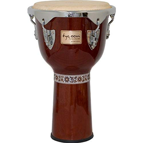 "Tycoon Percussion TJ-712CM 12"" Concerto Series Djembe Mahogany from Tycoon Percussion"