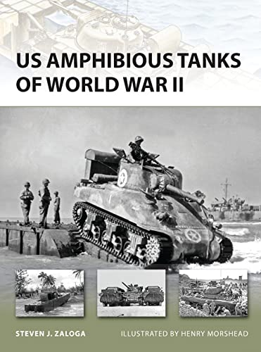 US Amphibious Tanks of World War II: 192 (New Vanguard) from Osprey Publishing