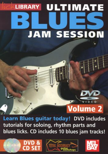 Ultimate Blues Jam Session Volume 2 [DVD] from Music Sales