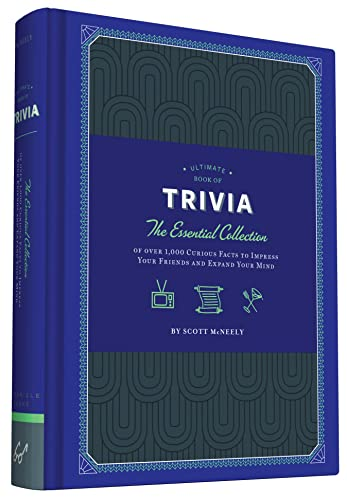 Ultimate Book of Trivia: The Essential Collection of over 1,000 Curious Facts to Impress Your Friends and Expand Your Mind from Chronicle Books