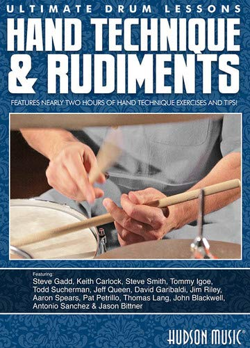 Ultimate Drum Lessons: Hand Technique And Rudiments [DVD] [NTSC] from Hal Leonard
