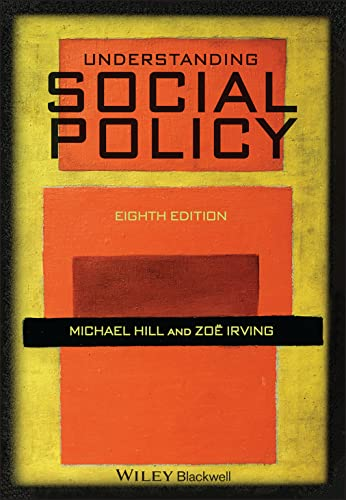 Understanding Social Policy from Wiley-Blackwell