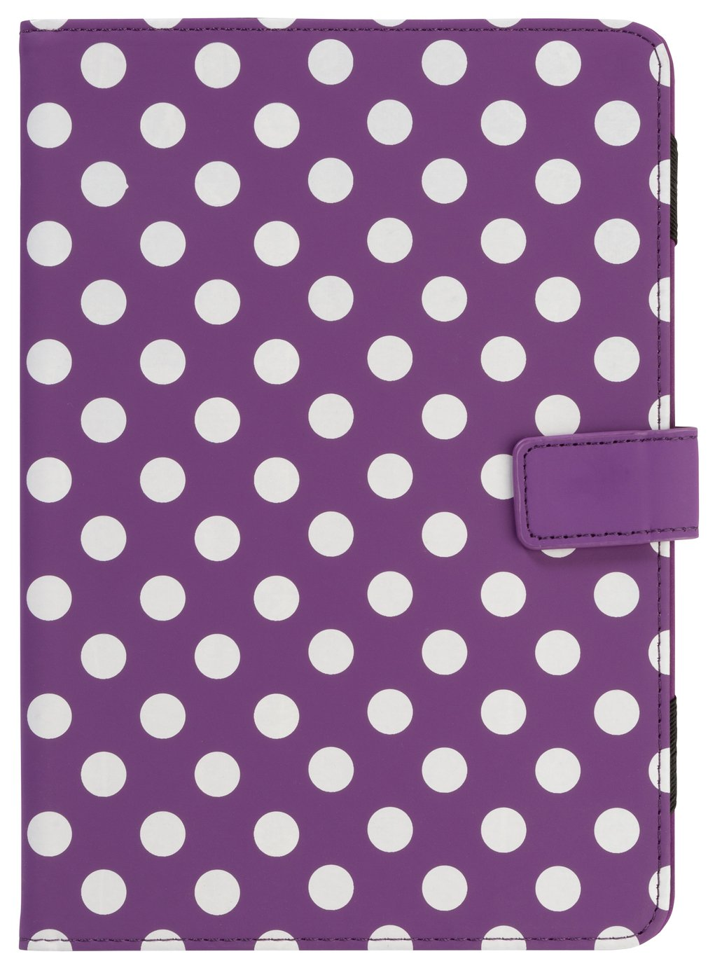 Universal - 7/8 Inch Polka Dot PVC Tablet Case - Purple from Universal