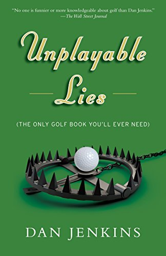 Unplayable Lies: Golf Stories (Anchorsports) from Anchor Books