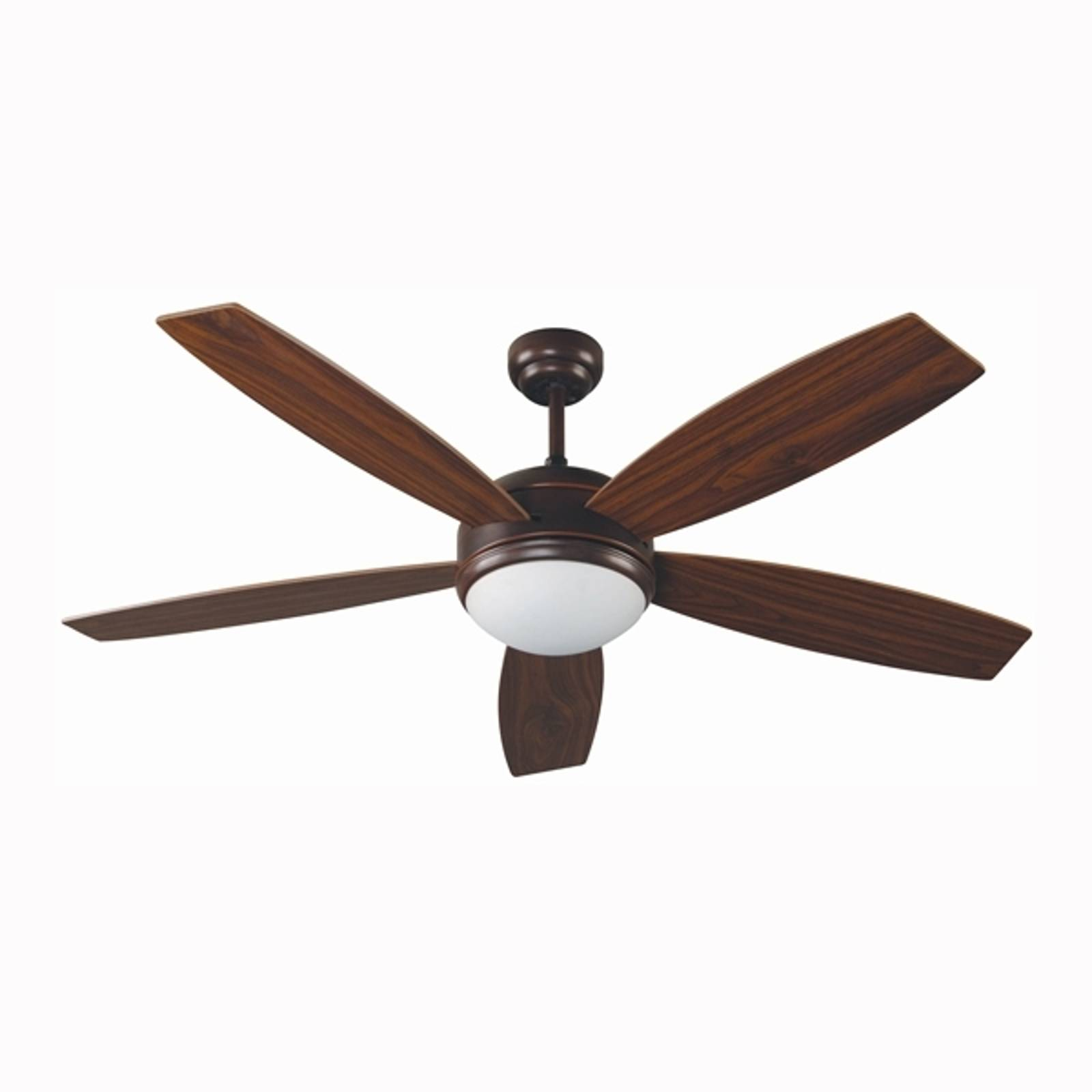 VANU Large Ceiling Fan with Remote Control, Brown from FARO BARCELONA