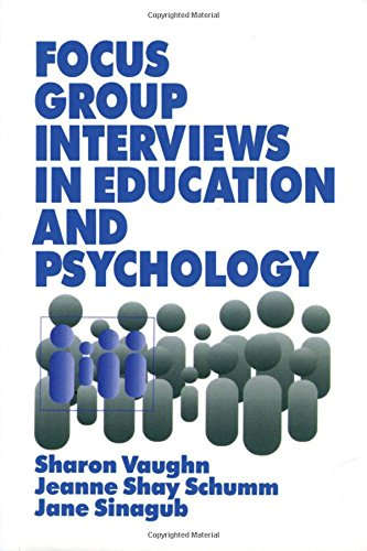 Focus Group Interviews in Education and Psychology from SAGE Publications, Inc