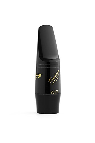 Vandoren SM418 V5 A17 Alto Saxophone Mouthpiece (Black Ebonite) from VANDOREN
