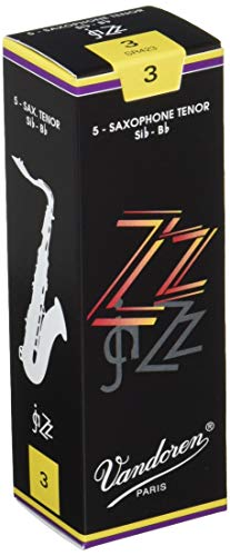 Vandoren ZZ Tenor Saxophone Reeds - Box of 5 - Strength 3 from VANDOREN