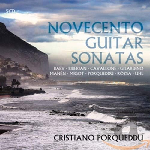 Various: Novecento Guitar Sonatas from BRILLIANT CLASSICS