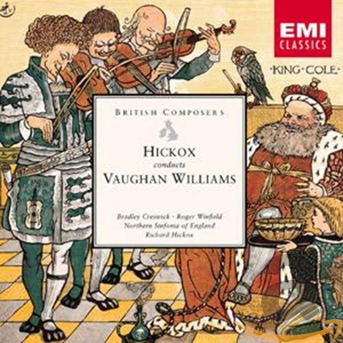 Vaughan Williams: Hickox Conducts, Lark Ascending, Five Mystical Songs, Oboe Concerto from EMI