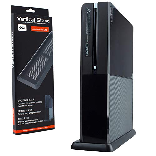 Vented Vertical Stand Mount Holder Cradle for Xbox One Console Black from ADZ