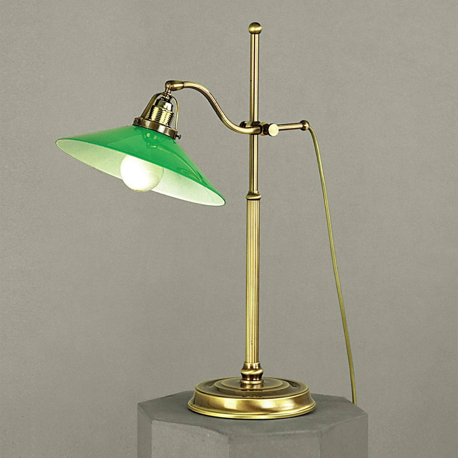 Verdina Table Light in Patina Look Green from Orion