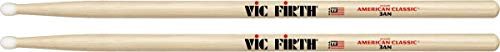 Vic Firth 3A American Hickory Nylon Tip Drumsticks from Vic Firth