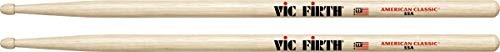 Vic Firth 55a American Hickory Wood Tip Drumsticks from Vic Firth